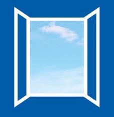 Fensteranhänger Lüften Erinnerung