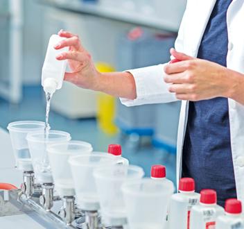 Laborleistungen in der Wasserhygiene
