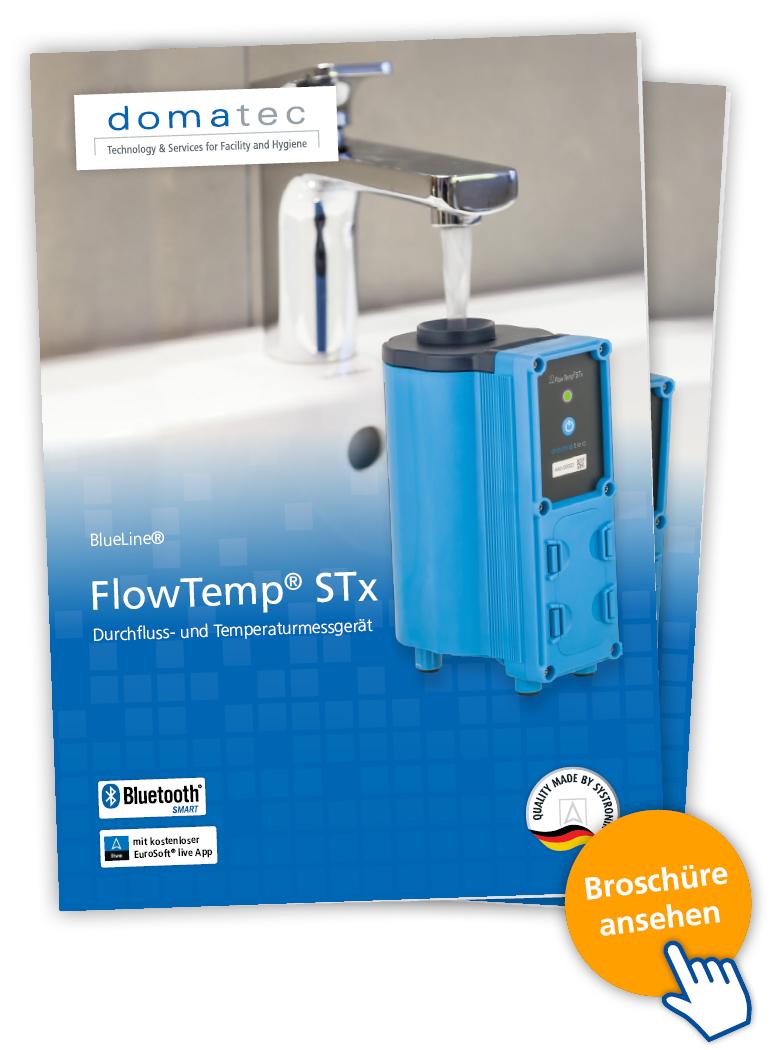 Durchfluss- und Temperaturmessgerät FlowTemp STx